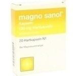 Verpackungsbild(Packshot) von MAGNO SANOL Kapseln
