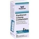Verpackungsbild(Packshot) von PANTHENOL 5% Lichtenstein Lösung
