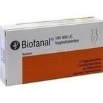 Verpackungsbild(Packshot) von BIOFANAL Vaginaltabletten