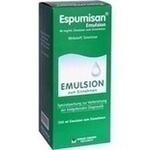 Verpackungsbild(Packshot) von ESPUMISAN Emulsion f. bildgebende Diagnostik