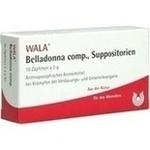 BELLADONNA COMP.Suppositorien