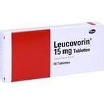 Verpackungsbild(Packshot) von LEUCOVORIN 15 mg Tabletten