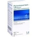 Verpackungsbild(Packshot) von PARACETAMOL Saft-1A Pharma gg.Fieber u.Schmerzen