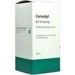 Verpackungsbild(Packshot) von CORSODYL Lösung