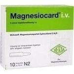 Verpackungsbild(Packshot) von MAGNESIOCARD i.v. Injektionslösung