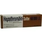 Verpackungsbild(Packshot) von HEPATHROMBIN 60.000 Salbe