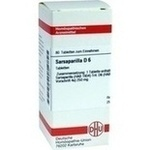 Verpackungsbild(Packshot) von SARSAPARILLA D 6 Tabletten