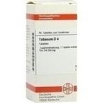 Verpackungsbild(Packshot) von TABACUM D 4 Tabletten