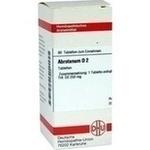 Verpackungsbild(Packshot) von ABROTANUM D 2 Tabletten