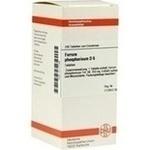 Verpackungsbild(Packshot) von FERRUM PHOSPHORICUM D 6 Tabletten