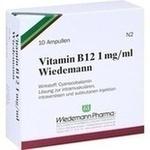 Verpackungsbild(Packshot) von VITAMIN B12 WIEDEMANN Ampullen