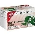 Verpackungsbild(Packshot) von H&S Brennesselblätter Filterbeutel