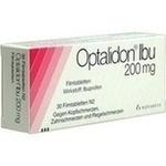 Verpackungsbild(Packshot) von OPTALIDON Ibu 200 mg Filmtabletten