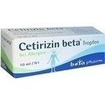 Verpackungsbild(Packshot) von CETIRIZIN beta Tropfen zum Einnehmen