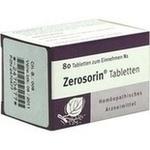 Verpackungsbild(Packshot) von ZEROSORIN Tabletten