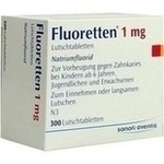 Verpackungsbild(Packshot) von FLUORETTEN 1,0 mg Tabletten
