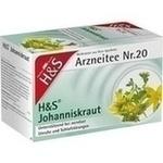 Verpackungsbild(Packshot) von H&S Johanniskraut Filterbeutel