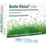 Verpackungsbild(Packshot) von AZELA-Vision sine 0,5 mg/ml Augentr.i.Einzeldosis.