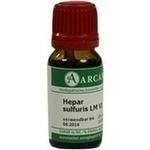 HEPAR SULFURIS LM 6 Dilution