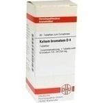 Verpackungsbild(Packshot) von KALIUM BROMATUM D 4 Tabletten