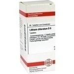 LITHIUM CHLORATUM D 6 Tabletten