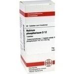 Verpackungsbild(Packshot) von NATRIUM PHOSPHORICUM D 12 Tabletten