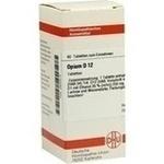 OPIUM D 12 Tabletten