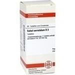 Verpackungsbild(Packshot) von SABAL SERRULATUM D 3 Tabletten