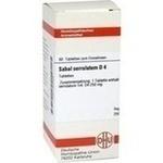 Verpackungsbild(Packshot) von SABAL SERRULATUM D 4 Tabletten