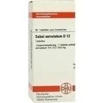 Verpackungsbild(Packshot) von SABAL SERRULATUM D 12 Tabletten