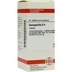 Verpackungsbild(Packshot) von SARSAPARILLA D 4 Tabletten