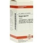 SINAPIS NIGRA D 4 Tabletten