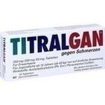 Verpackungsbild(Packshot) von TITRALGAN Tabletten gegen Schmerzen