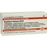 LM ARGENTUM nitricum VI Globuli