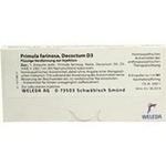 Verpackungsbild(Packshot) von PRIMULA FARINOSA decoctum D 3 Ampullen