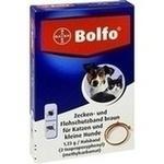 Verpackungsbild(Packshot) von BOLFO Flohschutzband braun f.kleine Hunde/Katzen