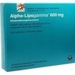 Verpackungsbild(Packshot) von ALPHA LIPOGAMMA 600 Inf.Lsg.Konzentrat Inf.-Lsg.