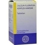 Verpackungsbild(Packshot) von CALCIUM FLUORATUM KOMPLEX Hanosan Tabletten
