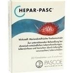Verpackungsbild(Packshot) von HEPAR PASC Filmtabletten