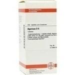 Verpackungsbild(Packshot) von AGARICUS D 6 Tabletten