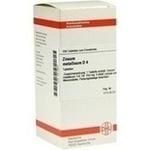 Verpackungsbild(Packshot) von ZINCUM METALLICUM D 4 Tabletten