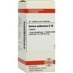 KALIUM SULFURICUM D 30 Tabletten