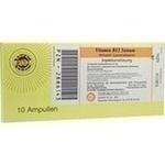 Verpackungsbild(Packshot) von VITAMIN B12 SANUM 1.000 μg/ml Injektionslsg.Amp.