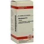 Verpackungsbild(Packshot) von ABROTANUM D 6 Tabletten