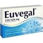 Verpackungsbild(Packshot) von EUVEGAL 320 mg/160 mg Filmtabletten