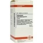 HISTAMINUM hydrochloricum D 4 Tabletten