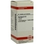 SPONGIA D 12 Tabletten