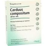 Verpackungsbild(Packshot) von CARDUUS COMPOSITUM ad us.vet.Ampullen