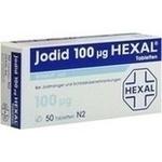 Verpackungsbild(Packshot) von JODID 100 HEXAL Tabletten