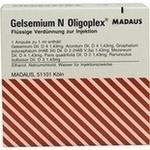 Verpackungsbild(Packshot) von GELSEMIUM N Oligoplex Ampullen